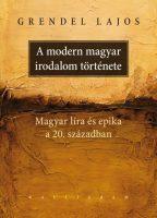 Könyv borító - A modern magyar irodalom története