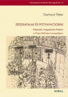 Könyv borító - Deszkafalak és Potyavacsorák