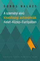 Könyv borító - A személyi elvű kisebbségi autonómiák